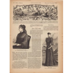 -zhurnal-moda- La Mode Illustrée 1892 N°03
