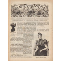 Complete magazine La Mode Illustrée 1892 N°46