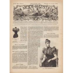Revue complète de La Mode Illustrée 1892 N°46