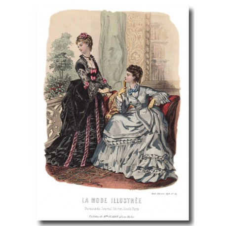 La Mode Illustrée 1873 34