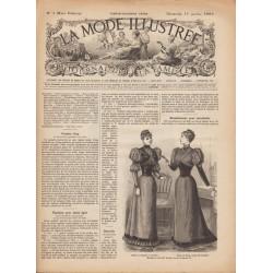 Revue La Mode Illustrée 1893 N°3