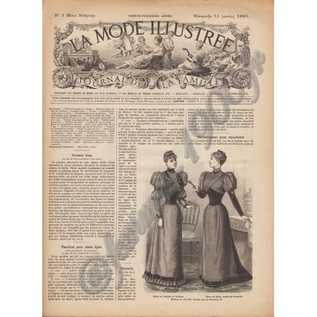 magazine La Mode Illustrée 1893 N°3