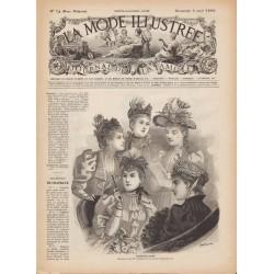 Complete magazine La Mode Illustrée 1893 N°14
