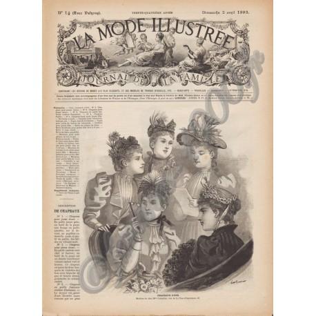 magazine La Mode Illustrée 1893 N°14