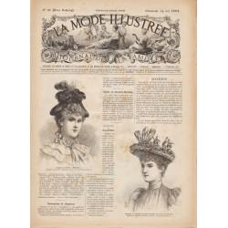 Revue complète de La Mode Illustrée 1893 N°20