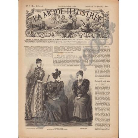 Complete magazine La Mode Illustrée 1893 N°5