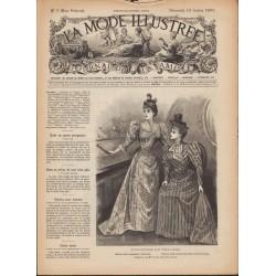 Revue complète de La Mode Illustrée 1893 N°7