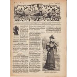 журнал мода La Mode Illustrée 1893 N°10