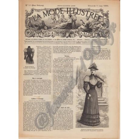 Revue complète de La Mode Illustrée 1893 N°10