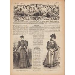 журнал мода La Mode Illustrée 1893 N°12