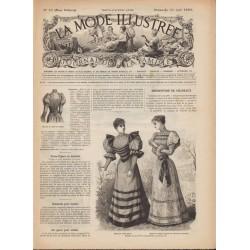журнал мода La Mode Illustrée 1893 N°18