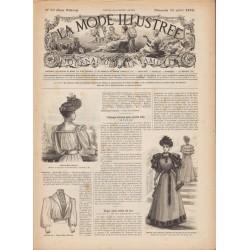 Revue complète de La Mode Illustrée 1893 N°29
