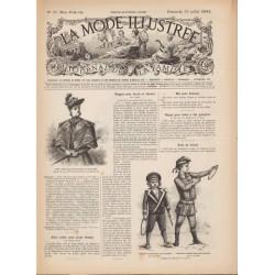 Complete magazine La Mode Illustrée 1893 N°31
