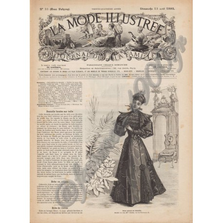 Revue complète de La Mode Illustrée 1893 N°33