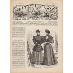 Revue complète de La Mode Illustrée 1893 N°36