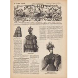 Revue complète de La Mode Illustrée 1893 N°38