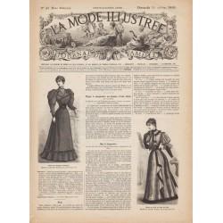 журнал мода La Mode Illustrée 1893 N°42
