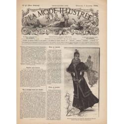 Revue complète de La Mode Illustrée 1893 N°49