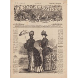Complete magazine La Mode Illustrée 1884 N°20