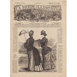 Revue complète de La Mode Illustrée 1884 N°20