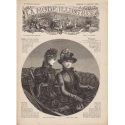 Complete magazine La Mode Illustrée 1884 N°37