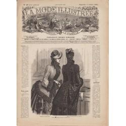 Revue complète de La Mode Illustrée 1884 N°40
