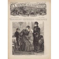 Revue complète de La Mode Illustrée 1884 N°42