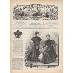журнал мода La Mode Illustrée 1897 N°05