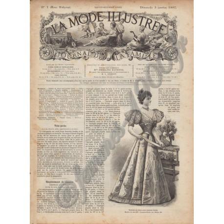 Complete magazine La Mode Illustrée 1897 N°01
