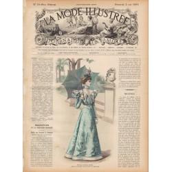 журнал мода La Mode Illustrée 1897 N°16