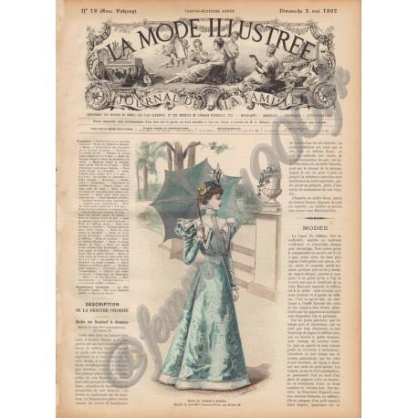 Complete magazine La Mode Illustrée 1897 N°16
