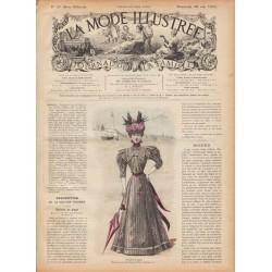 журнал мода La Mode Illustrée 1897 N°20