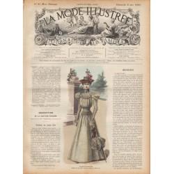 журнал мода La Mode Illustrée 1897 N°23