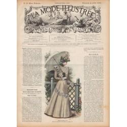 журнал мода La Mode Illustrée 1897 N°27