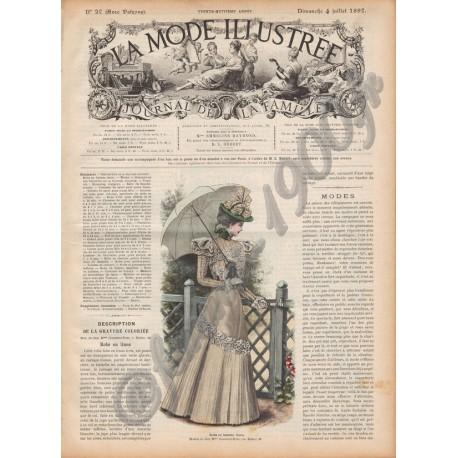 Complete magazine La Mode Illustrée 1897 N°27