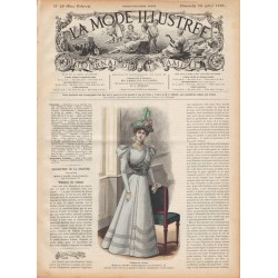 журнал мода La Mode Illustrée 1897 N°29