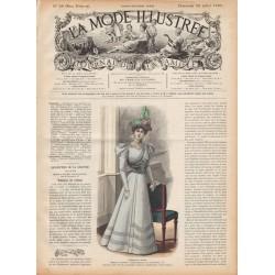 Complete magazine La Mode Illustrée 1897 N°29