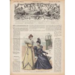 журнал мода La Mode Illustrée 1897 N°31