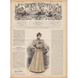 журнал мода La Mode Illustrée 1897 N°33