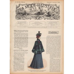 журнал мода La Mode Illustrée 1897 N°36