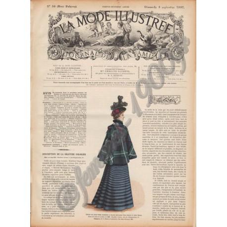 Complete magazine La Mode Illustrée 1897 N°36