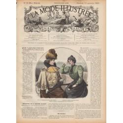 журнал мода La Mode Illustrée 1897 N°38