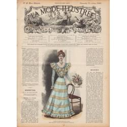 журнал мода La Mode Illustrée 1897 N°42