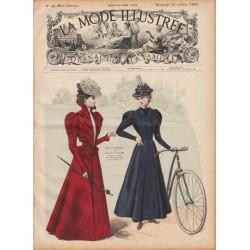 журнал мода La Mode Illustrée 1897 N°44