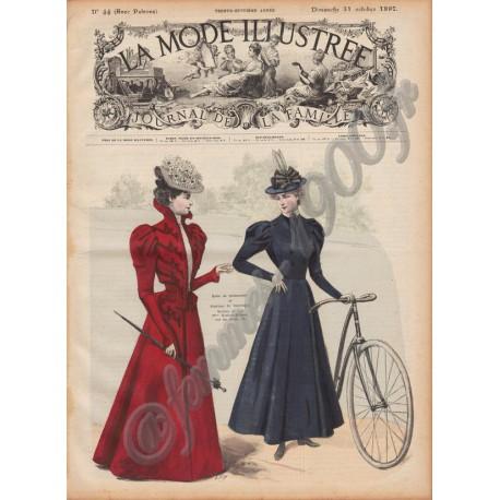Revue complète de La Mode Illustrée 1897 N°44