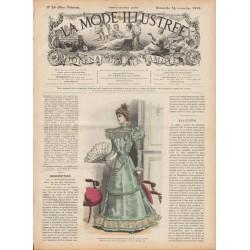 журнал мода La Mode Illustrée 1897 N°46