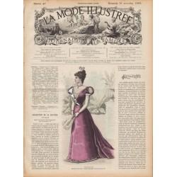 журнал мода La Mode Illustrée 1897 N°47