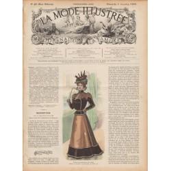 журнал мода La Mode Illustrée 1897 N°49