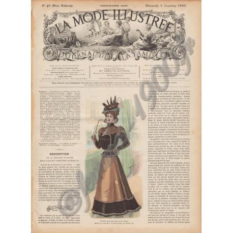Complete magazine La Mode Illustrée 1897 N°49