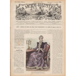 журнал мода La Mode Illustrée 1897 N°51